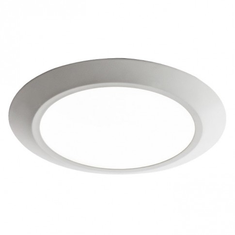 Spot LED incastrat MT 138 70355, 7W, lumina calda, alb mat