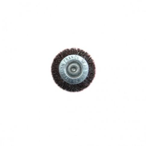 Perie circulara, cu tija, pentru metale / piatra / lemn, diametru 38 mm