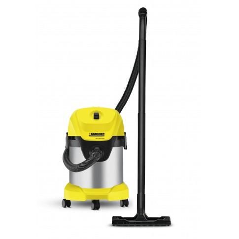 Aspirator Karcher WD 3 PR 1.629-840.0, cu sac, multifunctional, aspirare uscata si umeda, 17 l, 1000 W