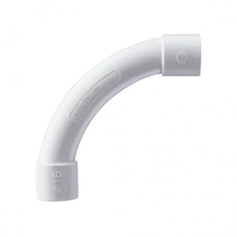 Curba pentru tub rigid, D 16 mm, Gewiss DX40116