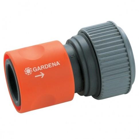 Conector furtun Gardena 18216 50, plastic, 3/4 inch