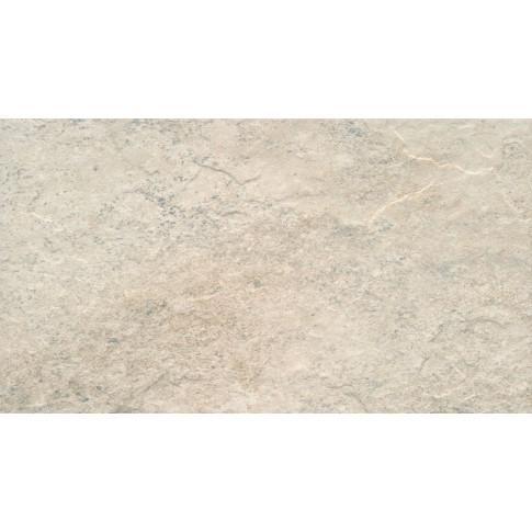 Gresie exterior / interior portelanata antiderapanta Stone latte, mata, crem, 30 x 60 cm