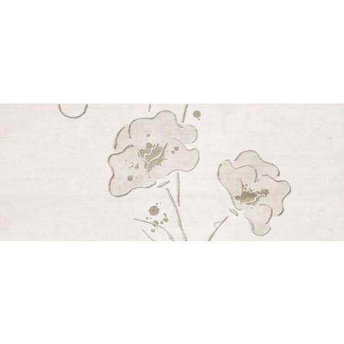 Decor faianta baie / bucatarie Clay-3 blanco lucios 20 x 50 cm
