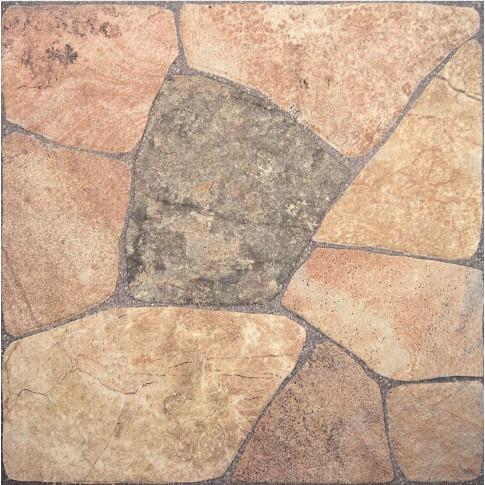 Gresie exterior / interior portelanata antiderapanta Elba rustico, mata, imitatie piatra, 44 x 44 cm
