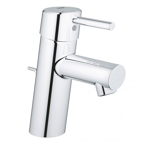 Baterie baie pentru lavoar, Grohe Concetto 32 204 001, montaj stativ, monocomanda, finisaj cromat