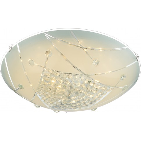 Plafoniera LED Elisa 40415-12, 12W, alb satinat