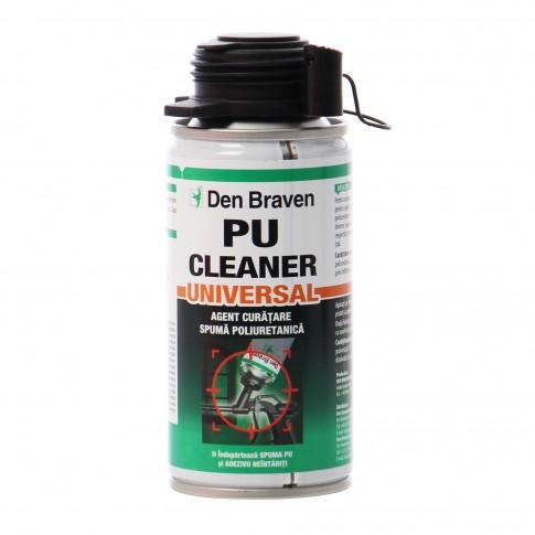Agent de curatare spuma poliuretanica neintarita, Den Braven PU Cleaner, 150 ml