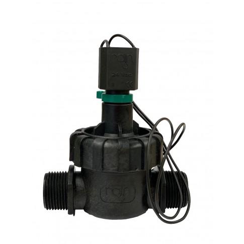 Electrovalva pentru sisteme de irigatii, RN 160 Plus 1 negru, PVC, 10 bari