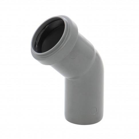 Cot PP HTB, pentru scurgere, D 40 mm, 45 grade