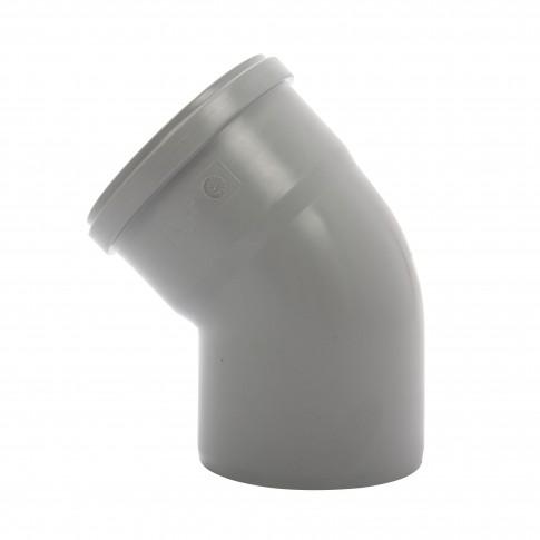 Cot PP HTB, pentru scurgere, D 110 mm, 45 grade
