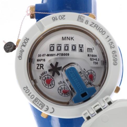 "Contor apa rece, Zenner MNK-N, multijet, R160, DN25, 1"""