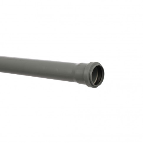 Teava PP pentru canalizare interioara, cu inel, 50 x 1.8 mm, 1 m