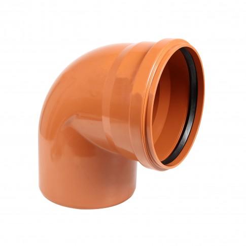 Cot PVC cu inel, D 125 mm, 87 grade