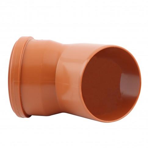 Cot PVC cu inel, D 200 mm, 45 grade