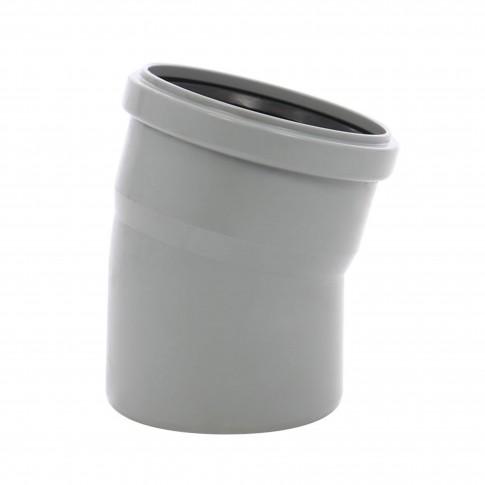 Cot PP HTB, pentru scurgere, D 50 mm, 15  grade