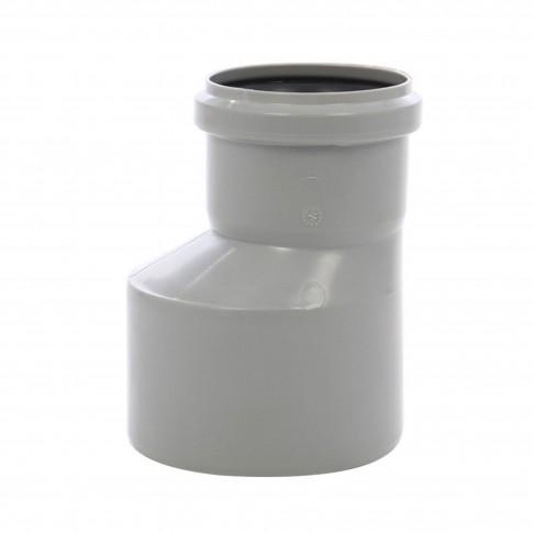 Reductie excentrica PP HTRA, pentru scurgere, D 110 mm - D 50 mm