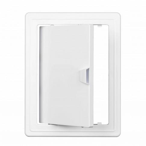 Usita vizitare, TE-MA, pentru instalatii sanitare, alba, 20 x 30 cm