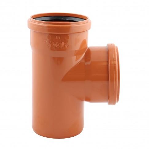 Ramificatie PVC cu inel, D 160 x 160 mm, 87 grade