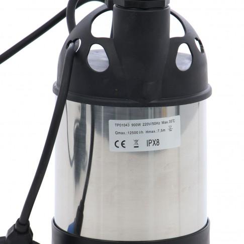 Pompa submersibila ape curate/murdare QP900C(TP01043), 12.5 mc/h, H max. 7.5 m, 900 W