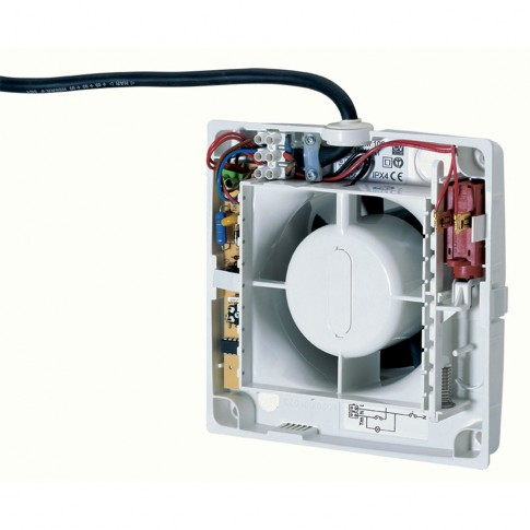 "Ventilator axial cu timer Vortice Punto M 120/5"" T, D 120 mm, 20 W, 175 mc/h, 11311"