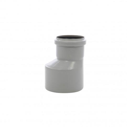 Reductie excentrica PP HTRA, pentru scurgere, D 110 mm - D 75 mm