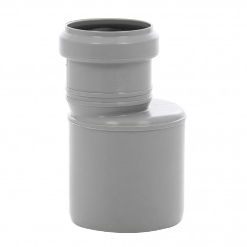 Reductie excentrica PP HTRA, pentru scurgere, D 75 mm - D 50 mm