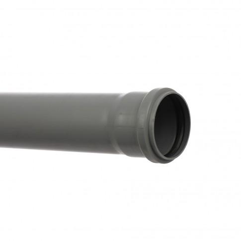 Teava PP pentru canalizare interioara, cu inel, 75 x 1.9 mm, 0.5 m