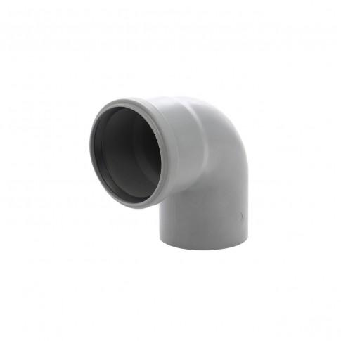 Cot PP HTB, pentru scurgere, D 75 mm, 87 grade