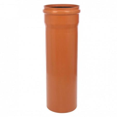 Teava PVC pentru canalizare exterioara, multistrat, SN4, 250 x 6.2 mm, 1 m