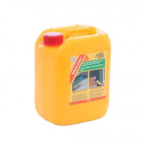 Aditiv pentru betoane si mortare, Sika Latex, 5 kg