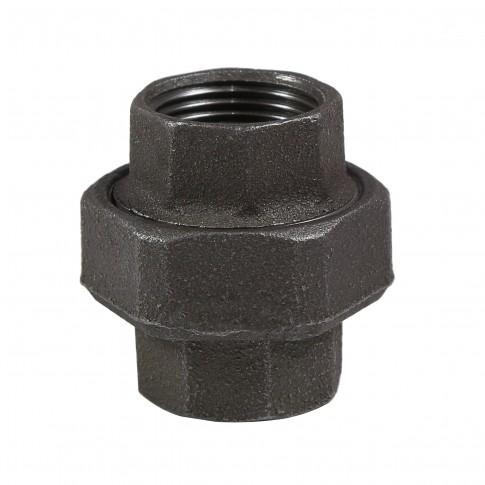 "Racord olandez fonta neagra, FI - FI, 1 1/2"", 330"