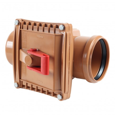 Clapeta PVC sens unic, DN 110 mm