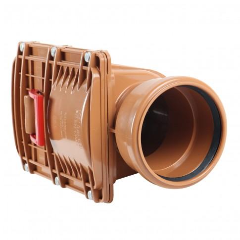 Clapeta PVC sens unic, DN 125 mm