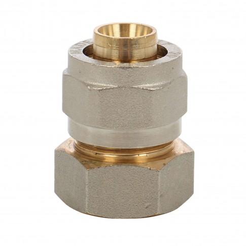 """Racord pentru teava multistrat, FI, D 26 mm x 3/4"""", 702L"""