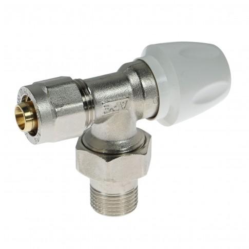 """Robinet tur colt cu conector, pentru calorifer, APE, 16 mm, D  1/2"""""""