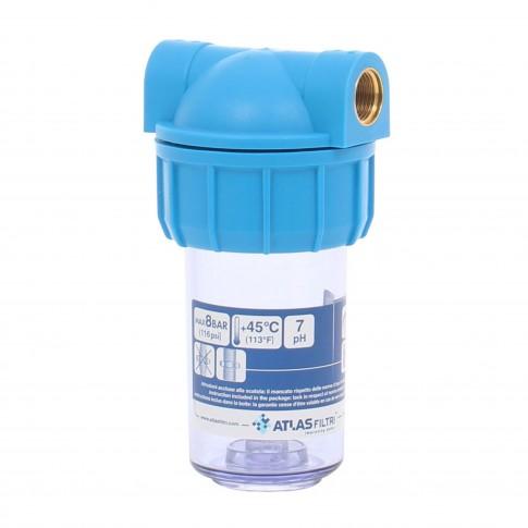 Filtru apa ATLAS Filtri Mignon Plus 5, L3P MFO - AS 1/2, RA101P111