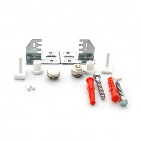 Set accesorii pentru calorifer Korad, 12 elemente