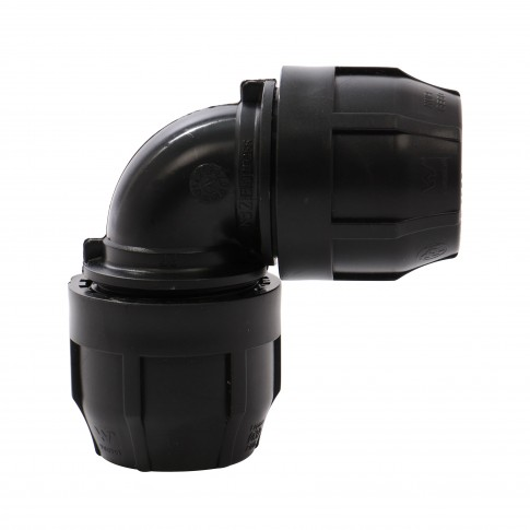 Cot compresiune PEHD, D 75 mm, 90 grade