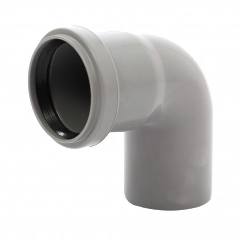 Cot PP HTB, pentru scurgere, D 125 mm, 87 grade