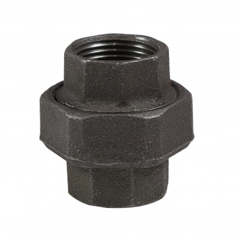 "Racord olandez fonta neagra, FI - FI, 1/2"", 330"
