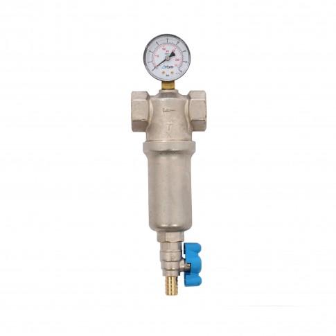 """Filtru apa cu curatare prin purjare RBM, 1260610, diametru 1"""", filete FF"""