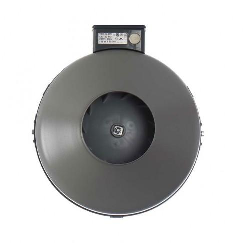 Ventilator axial centrifugal in linie Vortice CA 150 MD, D 150 mm, 155 W, 770 mc/h, metalic, 16153