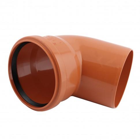 Cot PVC cu inel, D 125 mm, 67 grade