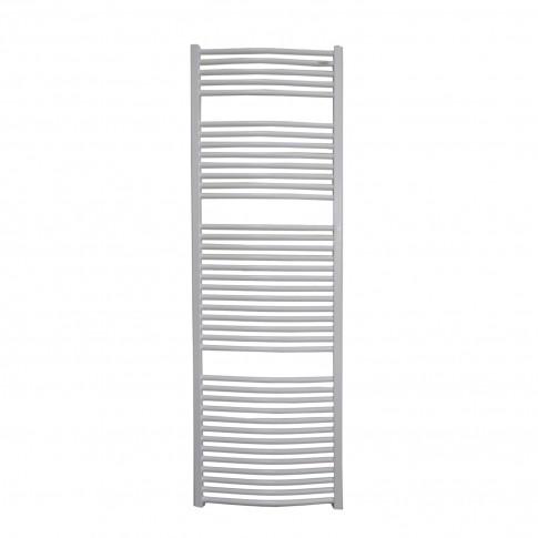 Radiator baie Radox Round, portprosop, curbat, alb, 600 x 1800 mm  + accesorii montaj