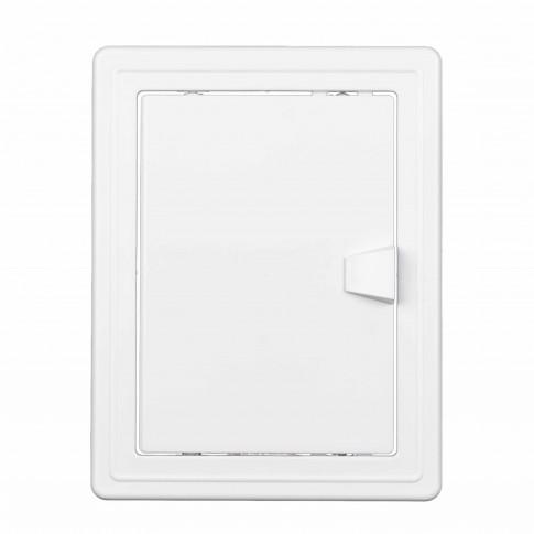 Usita vizitare, TE-MA, pentru instalatii sanitare, alba, 15 x 20 cm