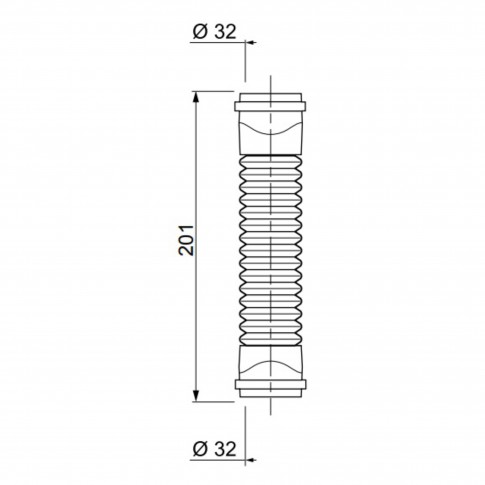 Racord PVC Magicoude Push Fit 79019001, D 32 mm