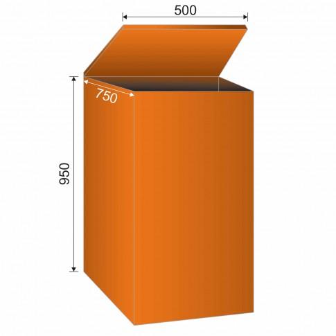 Rezervor peleti 096002X0 195 L