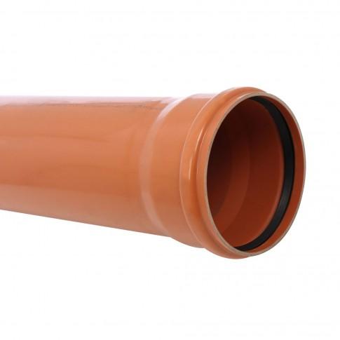Teava PVC pentru canalizare exterioara, multistrat, SN4, 250 x 6.2 mm, 3 m