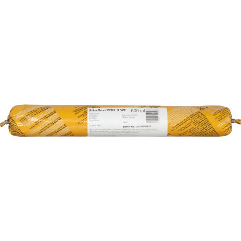 Adeziv sigilant Sika Sikaflex - PRO 3 WF, gri, 600 ml