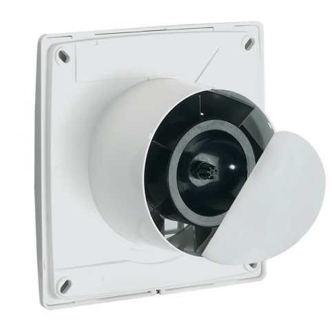 "Ventilator axial Vortice Punto Filo MF 100/4"", D 100 mm, 15 W, 85 mc/h, 11123"